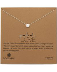 Dogeared - Love Necklace - Lyst