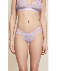 Les Coquines - Lily Thong - Lyst