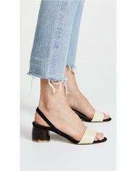 Dear Frances - Luna Slingback Sandals - Lyst