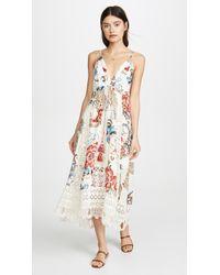 0637e3c6b33d8 FARM Rio - Romantic Floral Mini Dress - Lyst