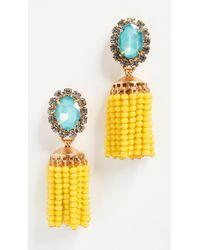 Elizabeth Cole - Cashel Earrings - Lyst