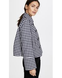 Protagonist - Cropped Peacoat - Lyst