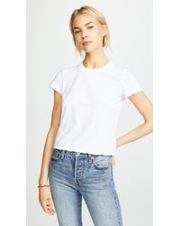James Perse - Feather Vintage Tee - Lyst