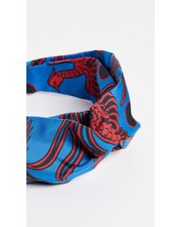 KENZO - Flying Phoenix Turban Headband - Lyst