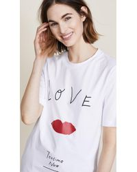 Edition10 - Love Printed Tee - Lyst