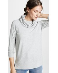 Cupcakes And Cashmere - Luca Cowl Neck Sweatshirt - Lyst
