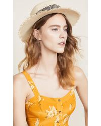 Rag & Bone - Frayed Edge Panama Hat - Lyst