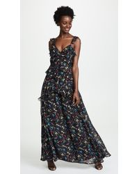 Love Sam - Blossom Printed Maxi Dress - Lyst
