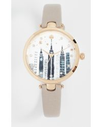 Kate Spade - Holland Cityscape Watch - Lyst
