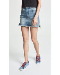 One Teaspoon - 2020 Stretch Mini Skirt - Lyst