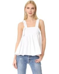 Viva Aviva - Oversized Knotted Top - Lyst