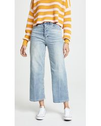 Free People - Wales Wide Leg Jeans - Lyst