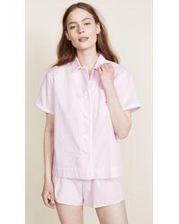 Sleepy Jones - Small Gingham Corita Shirt - Lyst