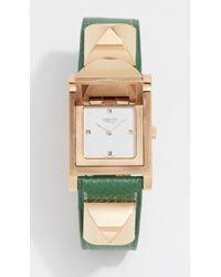 What Goes Around Comes Around - Hermes Gm Epsom Medor Watch, 23mm - Lyst