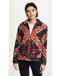 Opening Ceremony - Sorority Print Reversible Knit Jacket - Lyst