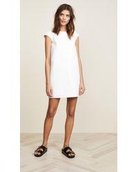 Courreges - Cross Short Sleeves Dress - Lyst