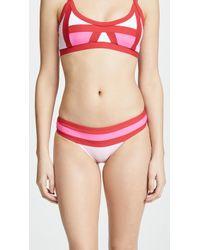 Pilyq - Colour Block Bikini Bottom - Lyst