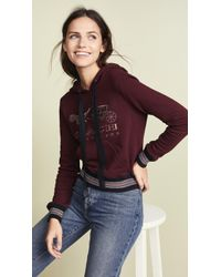 COACH - Rexy & Carriage Hoodie - Lyst