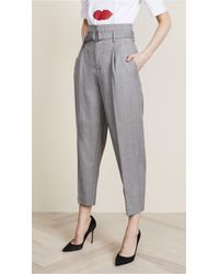 Edition10 - High Waist Tie Pants - Lyst