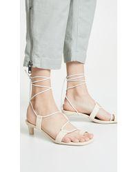 Zimmermann - Kitten Sandals - Lyst