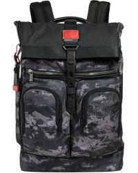 Tumi - Alpha Bravo London Roll Top Backpack - Lyst