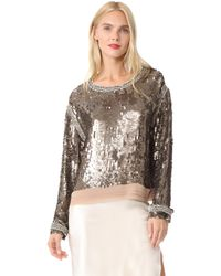 Loyd/Ford - Sequin Sweater - Lyst