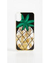 Iphoria - Pineapple Glitter Iphone X Case - Lyst