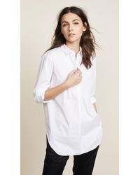 Ayr - Easy Half Placket Shirt - Lyst