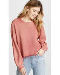 The Great - The Cut Off Sweatshirt - Lyst
