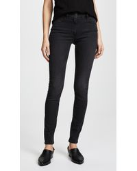 3x1 - W3 Channel Seam High Rise Skinny Jeans - Lyst