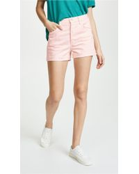 Mother - The Improper Fray Shorts - Lyst