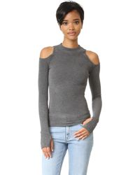 Getting Back to Square One - The Cold Shoulder Jumper - Lyst