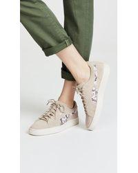 PUMA - Suede Sunfade Stitch Sneakers - Lyst