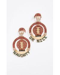 Elizabeth Cole - Jolly Earrings - Lyst