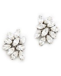 Ben-Amun - Crystal Cluster Earrings - Lyst