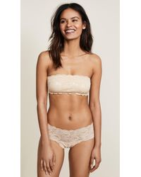 Cosabella - Never Say Never Flirty Bandeau Bra - Lyst