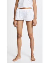 Les Girls, Les Boys - Woven Cotton Shorts - Lyst