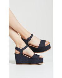 Dolce Vita - Datiah Platform Sandals - Lyst