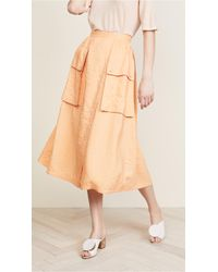 Nina Ricci - Parachute Skirt With Pockets - Lyst