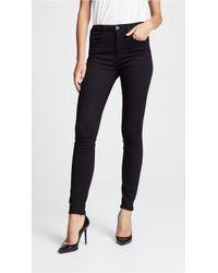 3x1 - W3 Channel Seam Skinny Jeans - Lyst