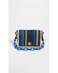 Tory Burch - Kira Whipstitch Double Strap Mini Bag - Lyst
