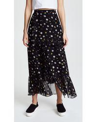 SJYP - Flower Printed Long Skirt - Lyst