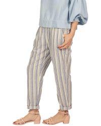 BURU White Label - Leanna Linen Trousers - Lyst