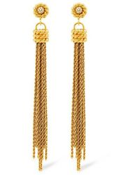 Rachel Zoe - Brenna Tassel Earrings - Lyst