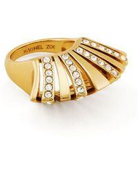 Rachel Zoe - Noelle Crystal Pavé Statement Ring - Lyst