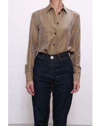 Rachel Comey - Mensy Shirt In Gold - Lyst