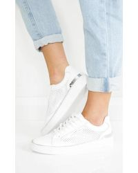 Showpo - Windsor Smith - Harley In White And Silver - Lyst