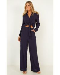 Showpo - See The Universe Two Piece Set - Lyst