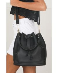 Showpo - Dream Time Bag In Black - Lyst