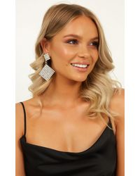 Showpo - Waiting On A Miracle Earrings - Lyst